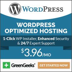 Green Geeks WordPress Hosting