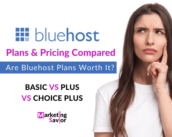 Bluehost Pricing and Plan Review